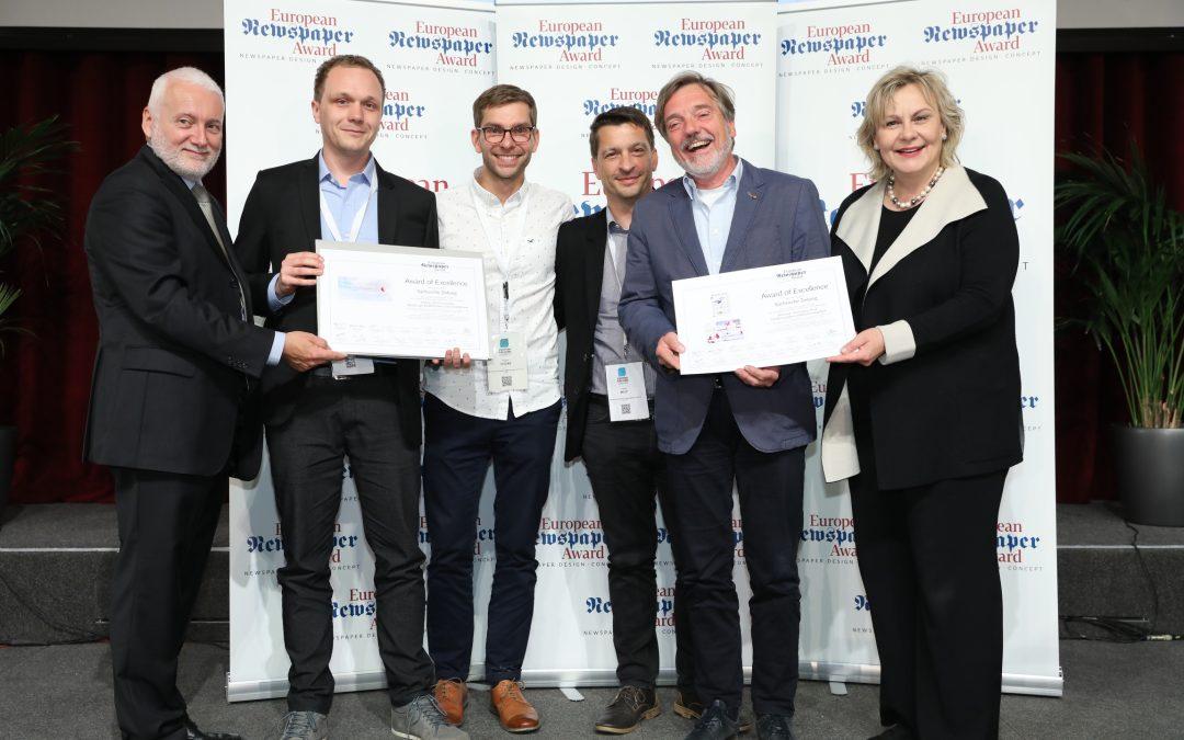 Sächsische Zeitung wird mit Innovationspreisen ausgezeichnet