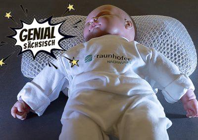 Cumulino - ein Super-Kissen, das Babys vor dem plötzlichen Kindstod bewahrt
