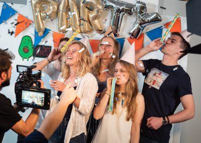 Zielgruppengerechter Videodreh für die VR-Bank