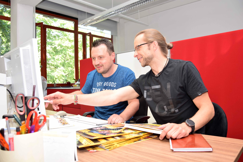 Torsten Mix und Tino Meyer (v.l.n.r)